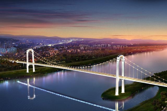 江津白沙长江大桥明年建成 为保护鱼类摒弃爆破施工