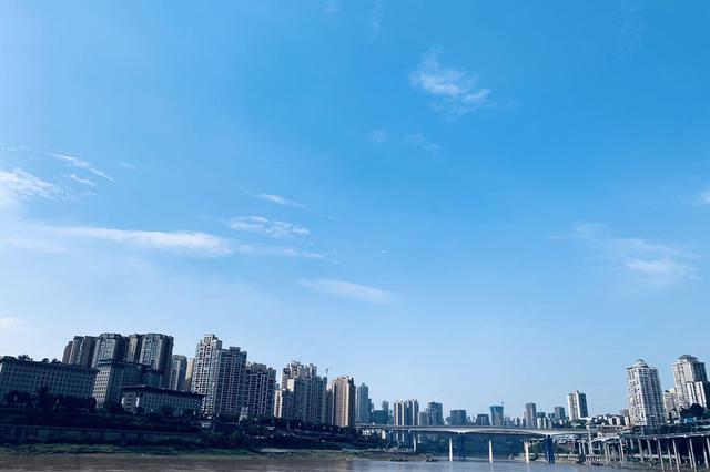 重庆今天多云回归 最高气温将回升到34℃