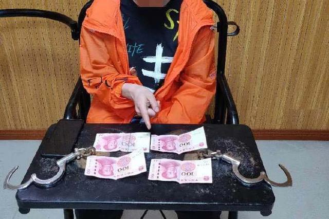 """重庆一男子""""碰运气""""随手拉车门盗窃 警方擒贼追赃"""