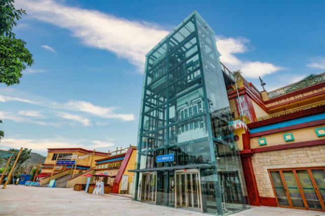 玛雅海滩水公园新增6部大型观光电梯  市民轻松消暑畅玩