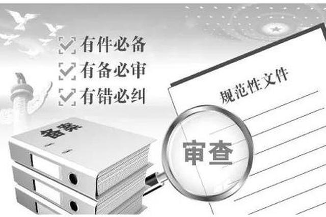 五年来重庆市人大共备案审查规范性文件863件