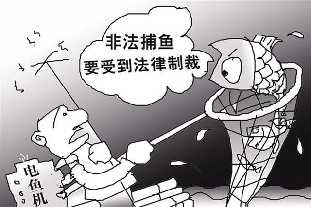 重庆:男子长江边非法捕捞 自以为江域大不会遇民警