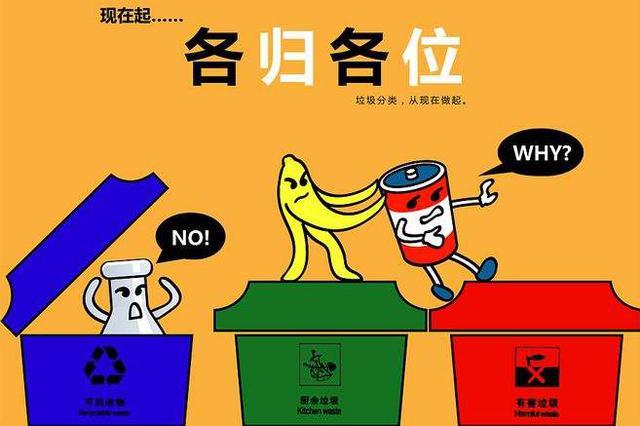 重庆将分三年三步走 实现全市生活垃圾分类全覆盖