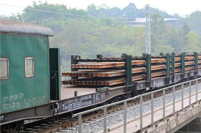 开通在望!重庆铁路枢纽东环线启动长轨换铺工作