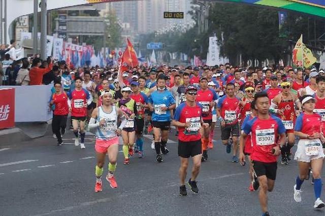 奔跑吧,重马!2020重庆马拉松赛鸣枪,4900名跑友参与