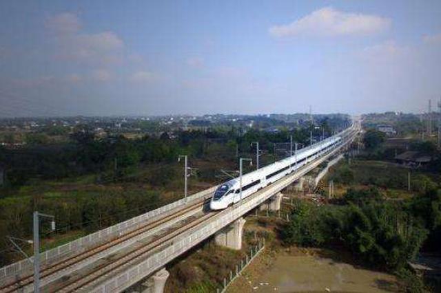 重磅!成渝中线高铁力争年底前开工 将引入重庆北站