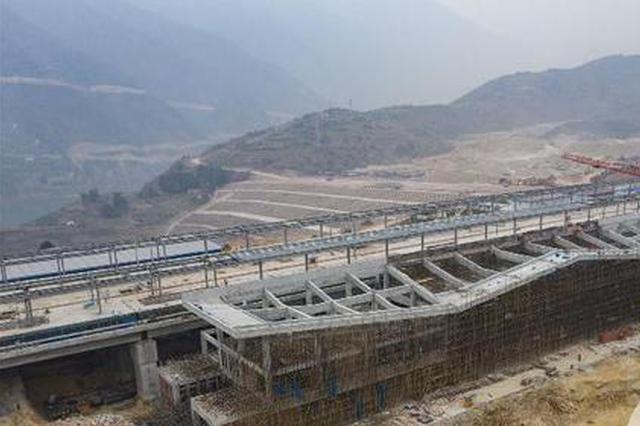 郑万高铁巫山车站主体工程完工 有望今年8月底建成