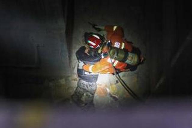 6岁男童坠落10米深通风井底部 幸亏被物业巡逻发现