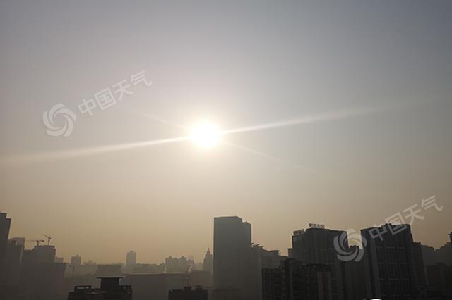 重庆天气:主城今天阴有小雨 最高气温12℃