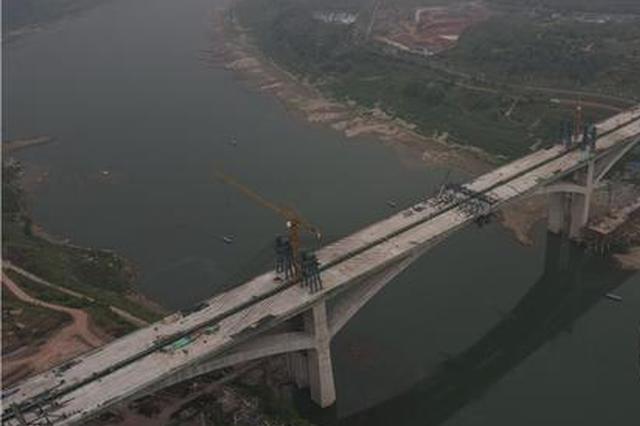 礼嘉嘉陵江大桥有望年内通车 大学城到礼嘉最快15分钟