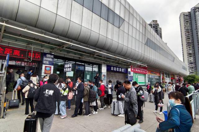 重庆五一期间预计发送铁路旅客168万人 超2019年同期