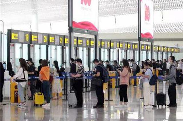 """""""五一""""假期 重庆江北国际机场迎送旅客近68万人次"""