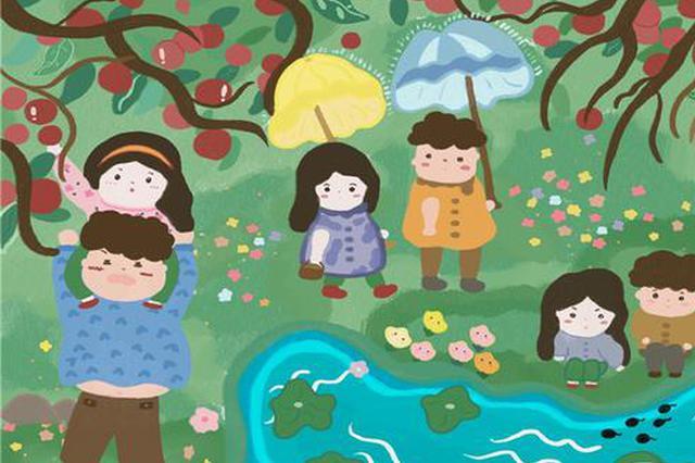 高三女生将恋爱故事画成画 多所世界名校抛来橄榄枝