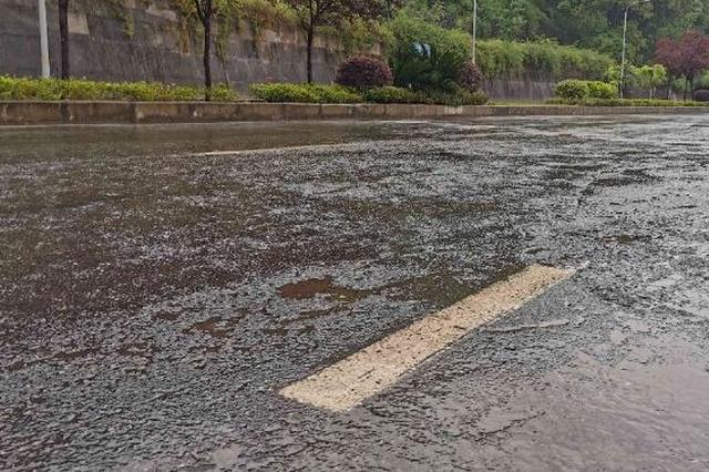 重庆今日雨水重来局地有强对流天气 全市最高温33℃