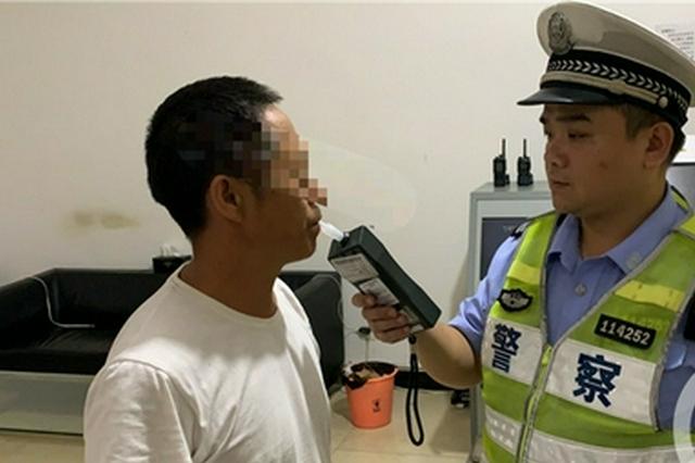 重庆一男子5次酒驾被查 其中3次被同一民警查获