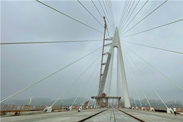 又一个世界之最!白居寺长江大桥成功合龙 年底通车