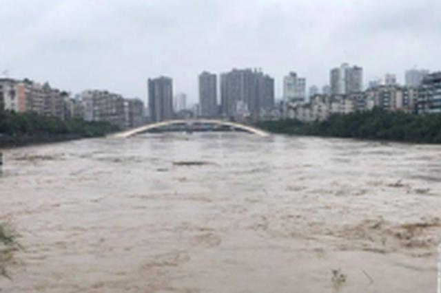 重庆28地中小河流或出现涨水 个别河流可能超警