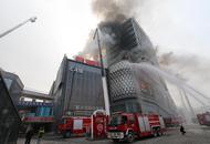 渝北消防灭火应急救援演练