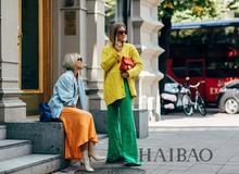 斯特哥尔摩时装周秀场外街拍