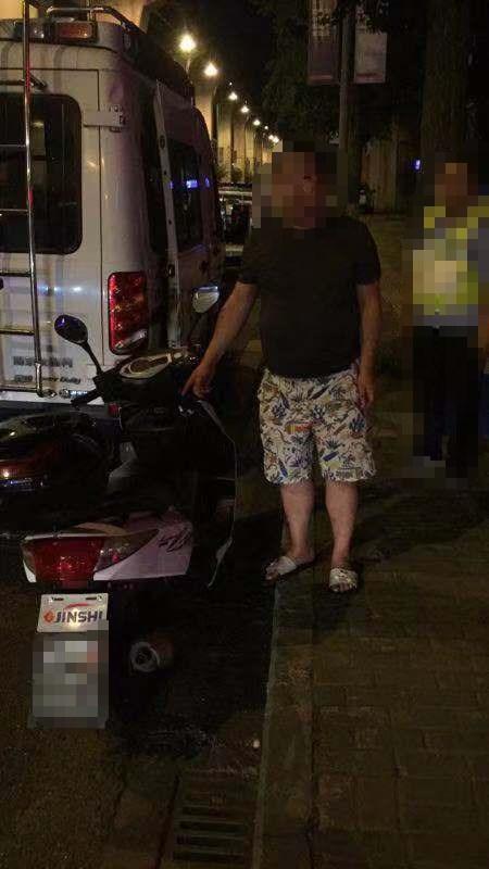 双凤大队依法处罚一起酒后驾驶违法行为。渝北区交巡警支队供图