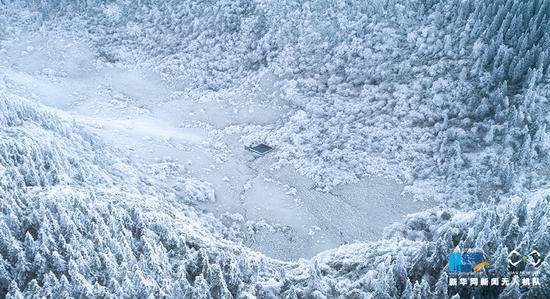 重庆这个地方全面进入冰雪气候 白雪覆盖宛如仙境
