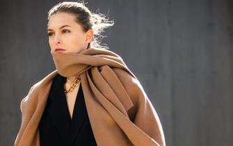 2019秋冬纽约时装周秀街拍第一波:大地色最高级,黑白搭也时髦!