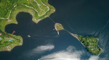 航拍重庆的母亲河:长江