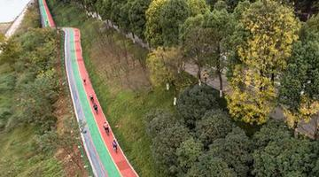 重庆沿江自行车健身道正式建成开放