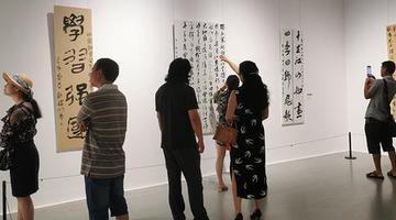 周末新去处 重庆美术馆推出免费书法展