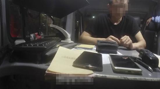 渝北区交巡警支队供图