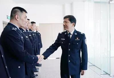 邓恢林会见2019年赴南苏丹维和警队全体队员