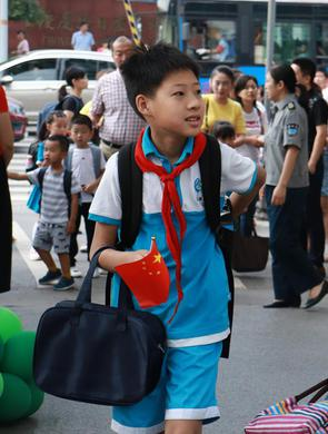 现场:重庆中小学开学第一天