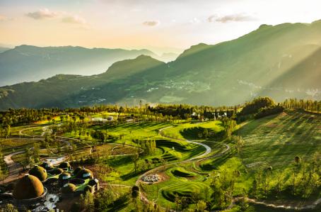 懒坝国际禅境艺术度假区