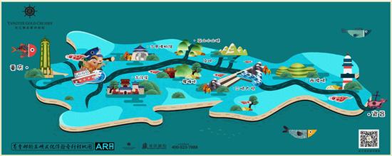 黄金邮轮三峡文化体验营行程地图