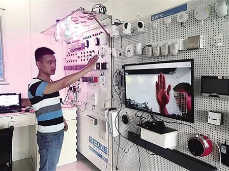在进行调试的人脸识别系统 受访者供图