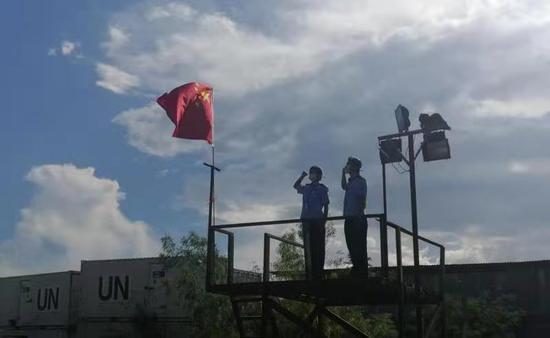 广获赞誉 中国第八支赴南苏丹维和警队重庆警队返渝
