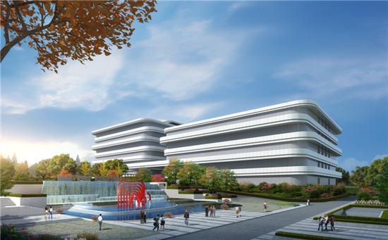 中国电信云计算重庆二期项目效果图 中国电信重庆公司供图