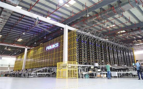 空港工业园区智慧共享物流中心 中国电信重庆公司供图