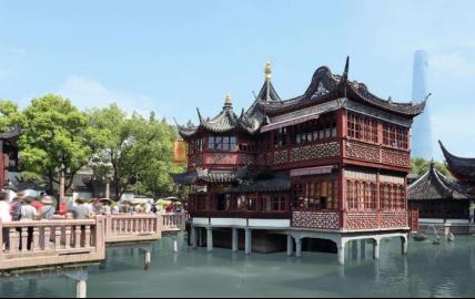 上海豫园湖心亭茶楼