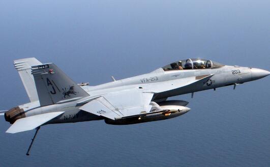 美海军超级大黄蜂战斗机坠毁 2名飞行员确认死亡