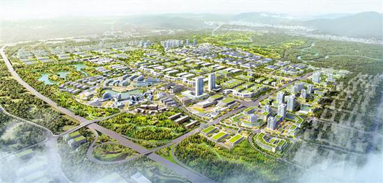 重庆·大学城科技产业园规划图