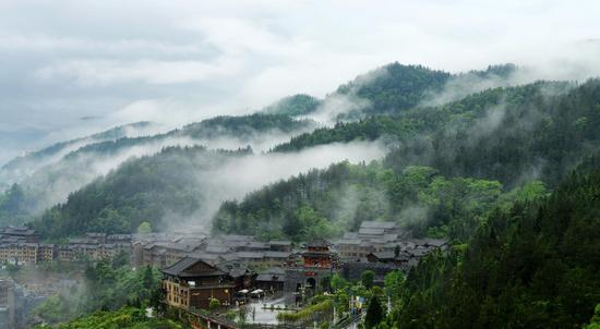 酉州古城景象