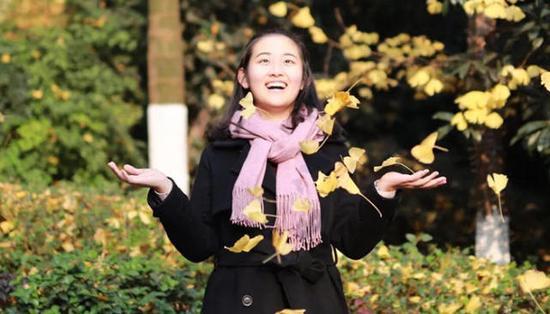 重庆外国语学校国际部高三学生朱睿婷 受访者供图
