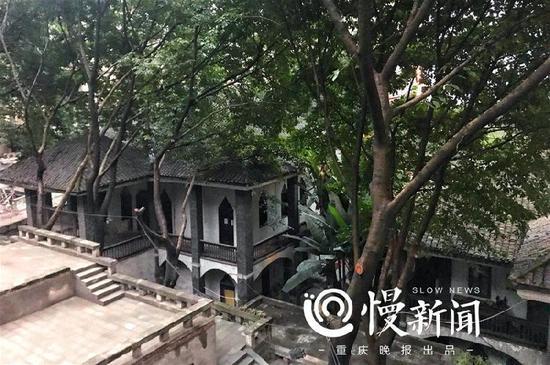 重庆老城最后一座衙门 巴县衙门启动保护修缮