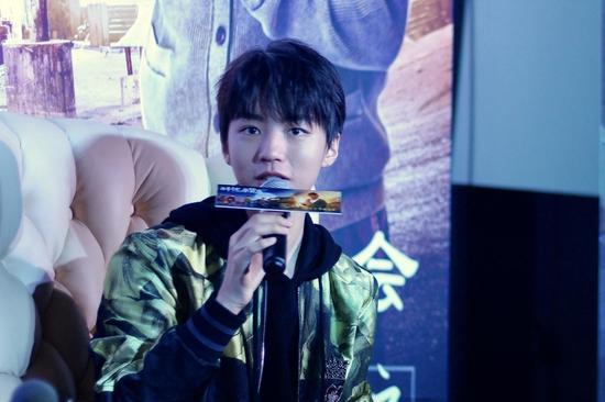 重庆崽儿王俊凯回渝宣传电影《解忧杂货店》