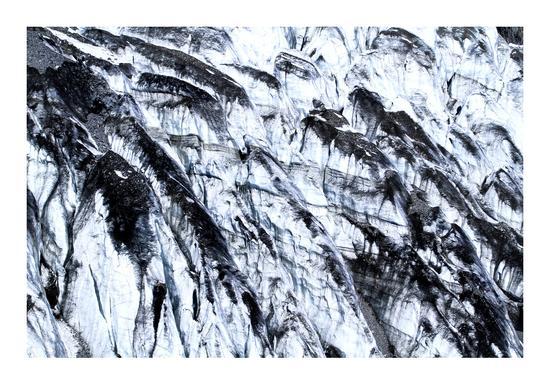 吴超老师作品——《冰川》  摄于玉龙雪山