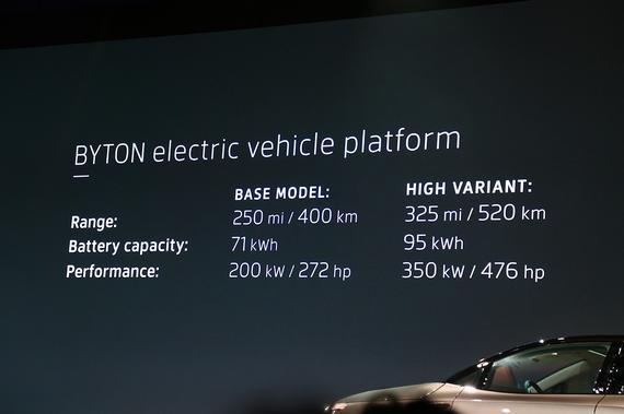 搭载两种动力与电池组