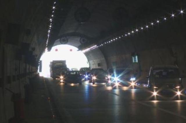 北碚隧道今晚开始维护施工 夜间这样绕行