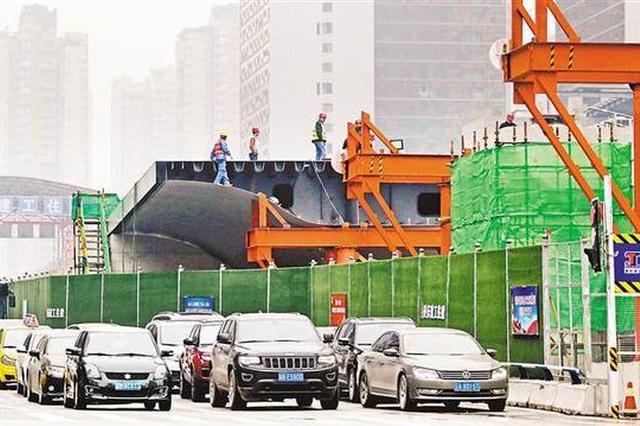 新南立交开始架梁施工 预计2019年上半年通车