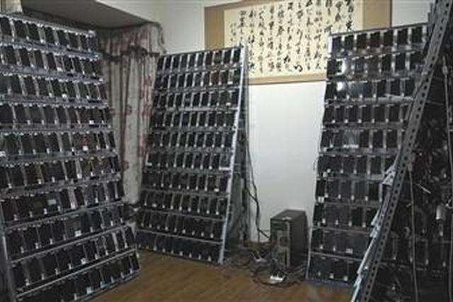 """重庆一公司购万部手机建""""手机墙""""干这事"""